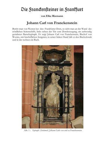 Die Fran%en#einer in Frankfurt - Geschichtsverein Eberstadt ...