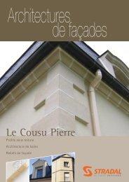 Catalogue Architectures de façade 2011 - untec