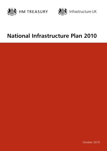 National Infrastructure Plan 2010 - Gov.uk