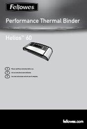 Helios 60 Manual - Fellowes