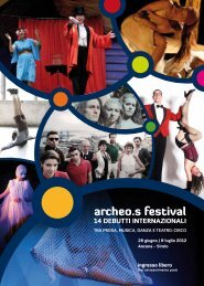 ARCHEOS FESTIVAL programma