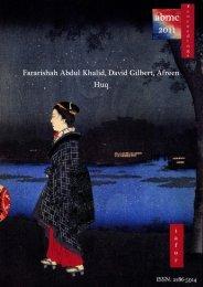 Fararishah Abdul Khalid, David Gilbert, Afreen Huq - The ...