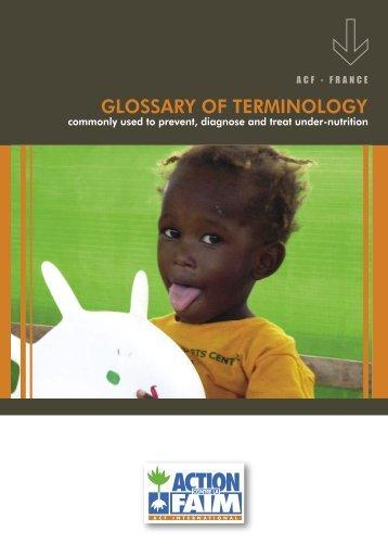 EXE2-Glossaire ENG.indd - Action contre la Faim Online