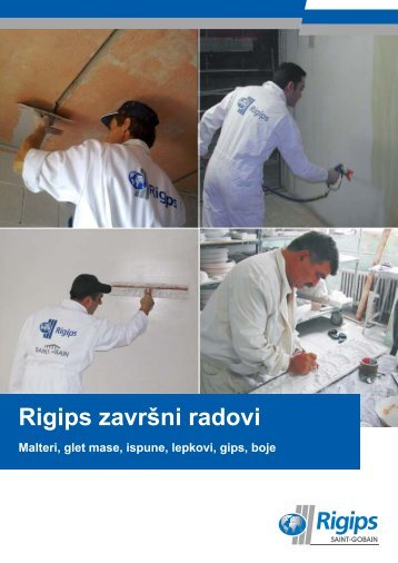 Rigips završni radovi