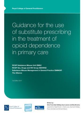 subst prescribing v8 - DrugScope