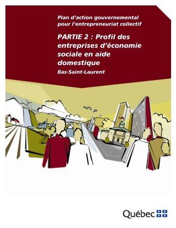 Bas-Saint-Laurent - Affaires municipales, régions et occupation du ...