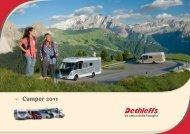 Catalogo Motorcaravans 2011 - Dethleffs