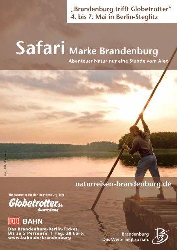 Marke Brandenburg Safari - Globetrotter