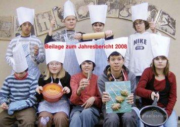 Beiage zum Jahresbericht 2008 (Rezepte) - Rafaelschule