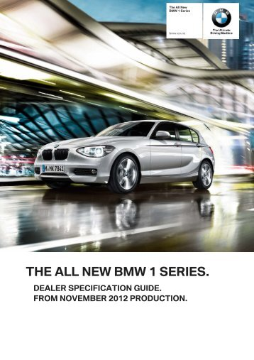 THE ALL NEW BMW 1 SERIES. - BMW New Zealand
