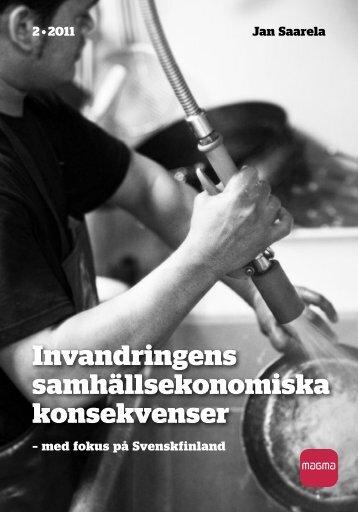 Invandringens samhällsekonomiska konsekvenser - Åbo Akademi
