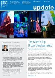 The State's Top Urban Developments - UDIASA - Urban ...