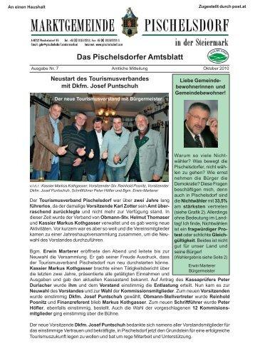 Das Pischelsdorfer Amtsblatt - Gemeinde Pischelsdorf
