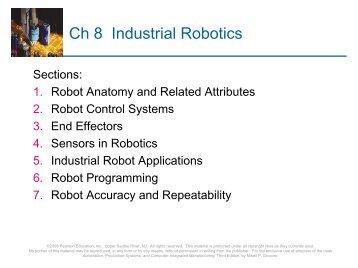 Ch 8 Industrial Robotics