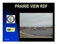 PRAIRIE VIEW RDF