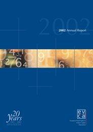 2002 Annual Report - EVCA