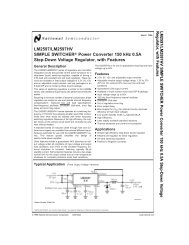 lm2597hv 8211 simple switcher power converter step down voltagelm2575 simple switcher 1a step down voltage 320voltlm2597hv 8211 simple switcher power converter step down voltage