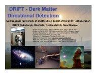 DRIFT - Dark Matter Directional Detection