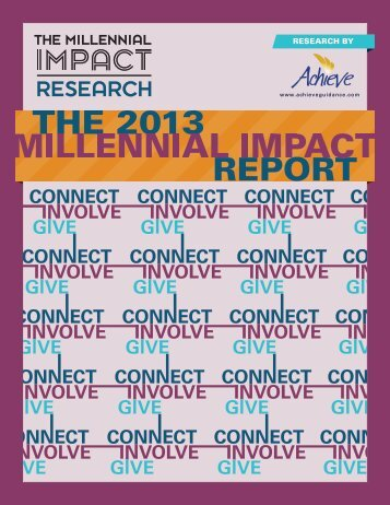 Millennial Impact Research
