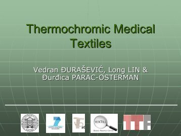 Thermochromic Medical Textiles - Project T-Pot