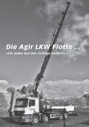 Die Agir LKW Flotte … - Agir AG