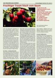 Fruchtiger Traum frisch vom Baum - Birseck Magazin
