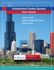 Chicago'07 - CMAA