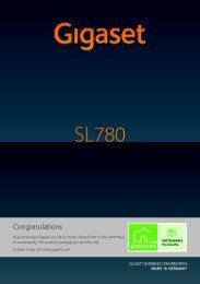 Siemens Gigaset SL780-SL785-SL78H Manual - PABX Phone ...