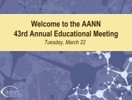 Thank You for Your Service - American Association of Neuroscience ...