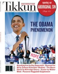 March/April 2008 - Tikkun Magazine
