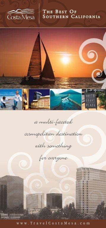 a multi-faceted cosmopolitan destination with ... - Costa Mesa