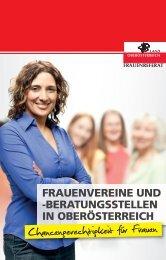beratungsstellen in Oberösterreich - Frauenreferat