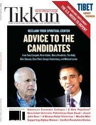 THEU.S.NEEDSTOREPENTROBERT - Tikkun Magazine