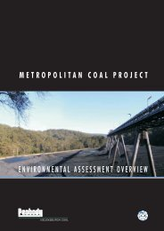 Metropolitan Coal Project Environmental ... - Peabody Energy