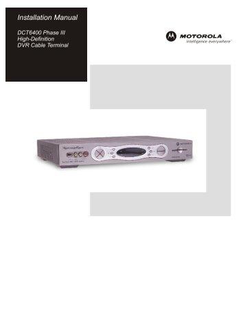 motorola dct6416 manual how to and user guide instructions u2022 rh taxibermuda co Motorola DCT6412 Back Motorola DCT6412 HD DVR