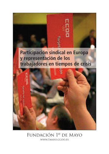 Participación Sindical - Fundación 1º de Mayo - CCOO