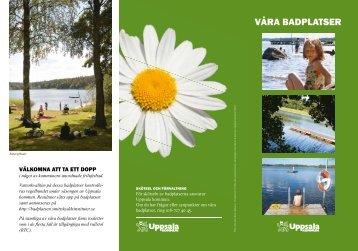 VÅRA BADPLATSER - Destination Uppsala