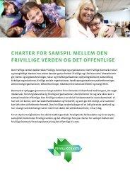 charter for samspil mellem den frivillige verden og ... - Frivilligcharter