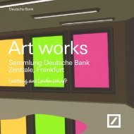 Art works - bei der Deutschen Bank