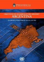 Objetivos de Desarrollo del Milenio - Argentina 2005- 2010