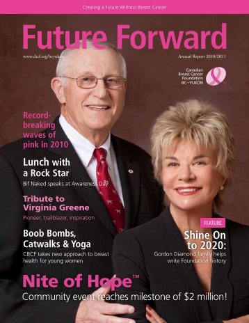 to read our 2010/11 Community Report. - Canadian Breast Cancer ...
