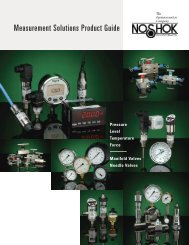 Measurement Products Catalog - Royal Hydraulics