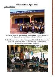 Infoblatt März-April 2010 - Madamfo Ghana
