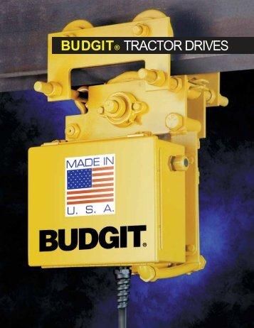 BUDGIT® TRACTOR DRIVES - Columbus McKinnon Corporation