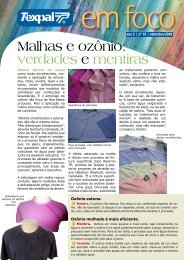Malhas e ozônio: verdades e mentiras - Texpal
