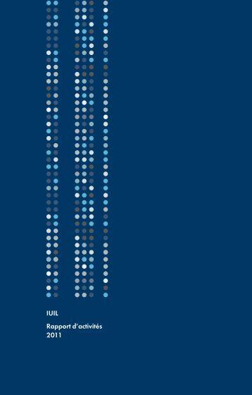 IUIL Rapport d'activités 2011