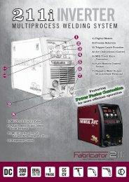 211i Brochure - Victor Technologies - Europe