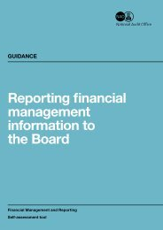 NAO: Reporting financial management information to the Board 2nd ...