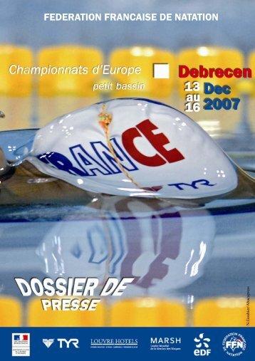 DP debrecen 2007.pub - Fédération Française de Natation