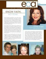 KNOW FAITH, - Arbonne